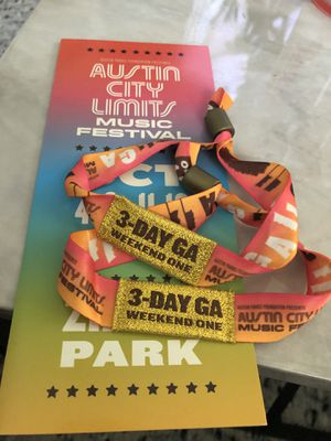 ACL weekend 1 - GA weekend passes for Sale in Houston, TX