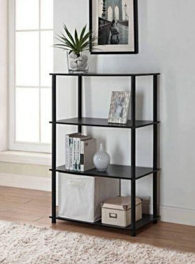 New Black Bookshelf