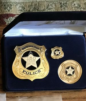 MPDC Washington, DC Police Badge 150th Commemorative Badge , Coin , Pin set. $175 for Sale in Centreville, VA