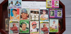 Any Interest in Loose 12 Card lot of Vintage 1950's/1960's-70s -80's. Baseball. for Sale in Stockton, CA