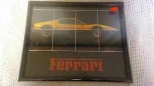 Ferrari framed image for Sale in Roseville, CA