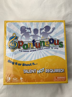 Spontuneous board game for Sale in Gilbert, AZ