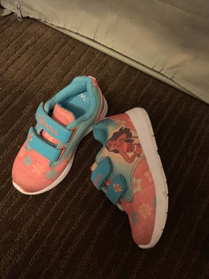 Disney Moana's Shoes Toddler size 9 for Sale in Virginia Beach, VA
