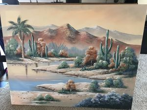 Hand painted Desert Oasis ! for Sale in Laveen Village, AZ