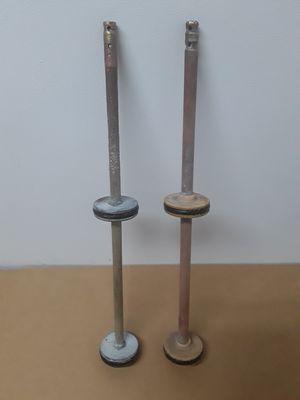 Brass pool backwash valves $35 for both for Sale in Glendale, AZ