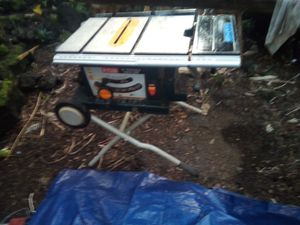 Construction Table Saw in great condition for Sale in Kailua-Kona, HI