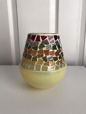 Glass Candle Holder for Sale in Kissimmee, FL