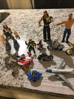 ACTION FIGURES, WRESTLERS, VARIOUS CARS AND VEHICLES for Sale in Fort Lauderdale, FL