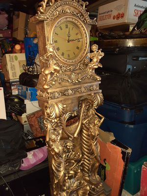 6'tall clock and fountain for Sale in Riverside, CA