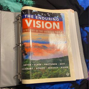Enduring vision History Text Book for Sale in Maryville, TN