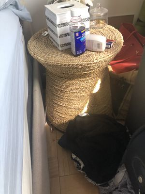 Wooden end table for Sale in New York, NY