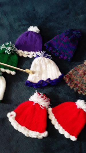 Hand made hats for tiny heads for Sale in GLOUCSTR CITY, NJ