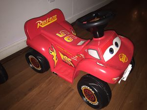 Lightning mcqueen 4 wheeler for Sale in Alexandria, VA