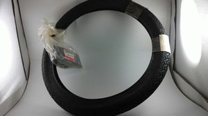 Honda tire motorcycle 225-17 Mich Moped 42711-148-670 w/ tire tube 42712-052-0 for Sale in Orlando, FL