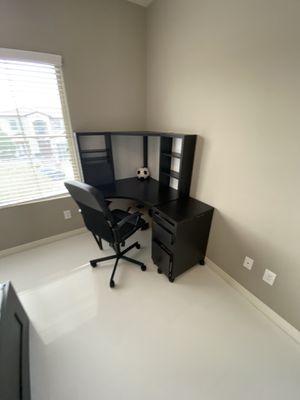Ikea corner desk and cabinet for Sale in Las Vegas, NV