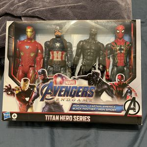 Brand New Marvel Avengers: Endgame Titan Hero Series Action Figure 4 PackSealed for Sale in San Diego, CA