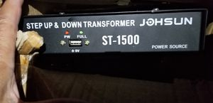 STEP UP & DOWN TRANSFORMER 1500 WATTS, for Sale in San Dimas, CA