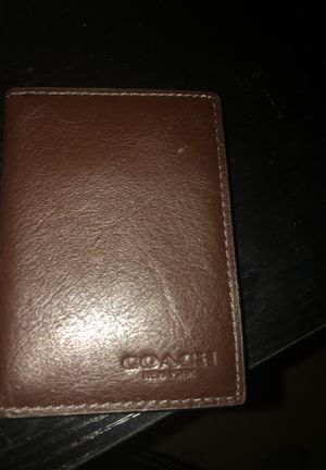 COACH New York wallet leather for Sale in Naperville, IL