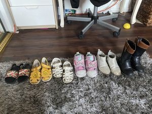 Toddler girl shoes for Sale in Los Angeles, CA