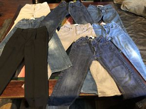 6 Levis Jeans, 1 Valleuser and 1 IZOD Jeans. Size 8 Regular. for Sale in Fairfax, VA