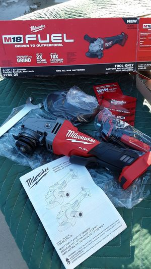 Tool Milwaukee M18 fuel Brushless Grinder Paddle Switch, No-Lock/ In Van Nuys for Sale in Los Angeles, CA