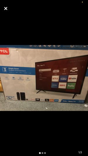 TCL ROKU TV (32inch) for Sale in Grovetown, GA