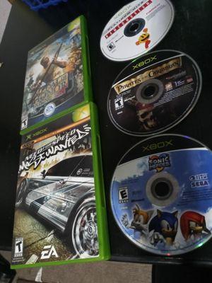 Original Xbox Game lot for Sale in San Bernardino, CA