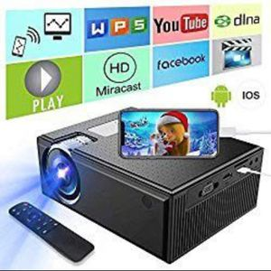 Projector, Cozyswan GP9 1080P HDMI works with Smartphone for Sale in Fontana, CA