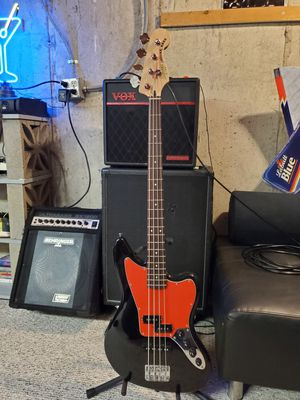Fender Squire Jaguar Bass for Sale in Lake in the Hills, IL