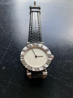 Tiffany & Co. 1990s Silver Women's Atlas Watch for Sale in Kirkland,  WA