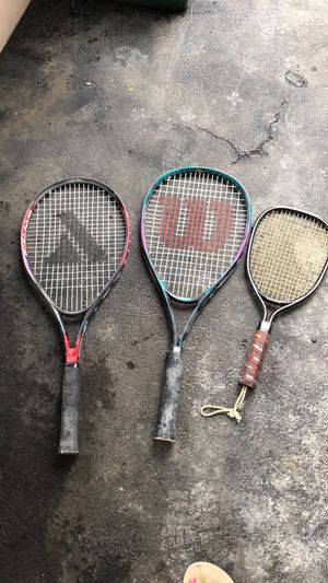 Tennis rackets for Sale in Revere, MA