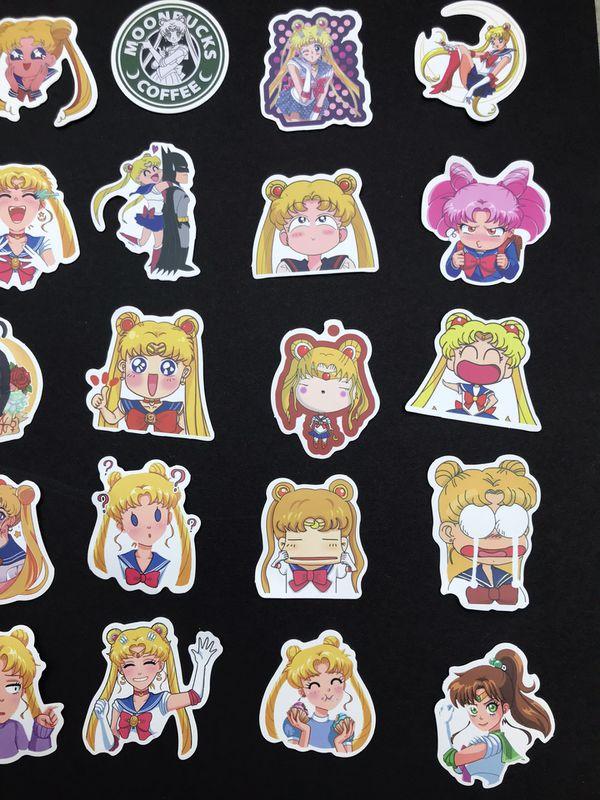 Sailor Moon Matte Stickers (SET OF 50)