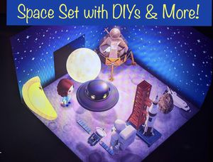 Animal Crossing New Horizon's Space Set & DIYs 40 Pieces! for Sale in Las Vegas, NV