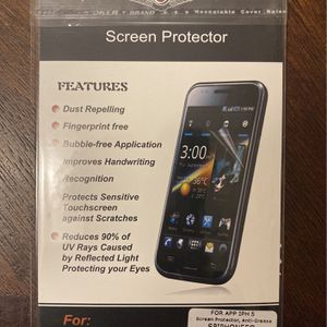 Screen Protector For iPhone 5 for Sale in Albuquerque, NM