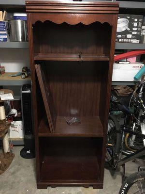 Wood Book Case (read description) for Sale in Cumming, GA