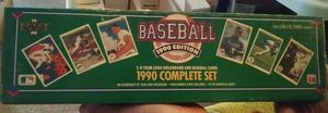 1990 collectors set baseball cards for Sale in Marion, OH
