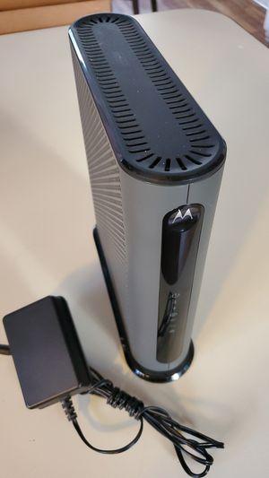Motorola Modem with wifi for Sale in Littleton, CO