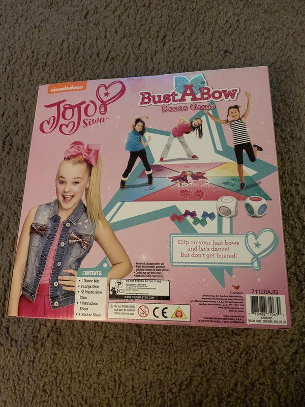 JoJo Siwa board game