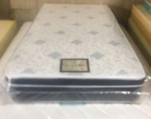 "10"" thick pillow top mattress. Twin Mattress only-$120 Mattress & box spring-$150 Full Mattress only-$160 Mattress & box spring-$199 Queen Mattress for Sale in Rolling Hills Estates, CA"