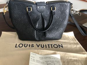 "Louis Vuitton Black Mazarine pm empriente tote bag purse"" 2500$ original ""FIRM PRICE for Sale in Aventura, FL"