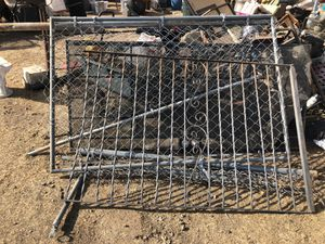 Metal part fences for Sale in Fresno, CA
