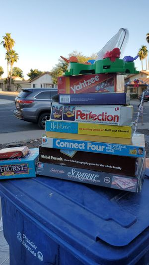 Vintage and Newer Board Games for Sale in Chandler, AZ