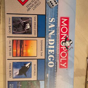Monopoly San Diego Edition for Sale in San Diego, CA