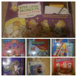 Kids games and puzzles ages 3 through 8 for Sale in COCKYSVIL, MD