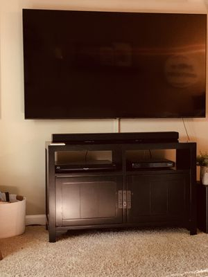 Like new Tv Stand, black for Sale in Spring Hill, TN