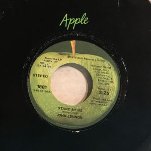 John Lennon Beatles Stand By Me seven-inch vinyl record single not LP album for Sale in Austin, TX