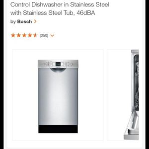 BRAND NEW BOSCH DISHWASHER for Sale in Wheat Ridge, CO