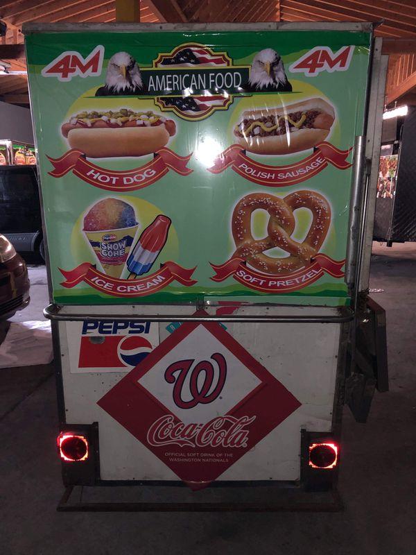Food trailer/ hotdog stand