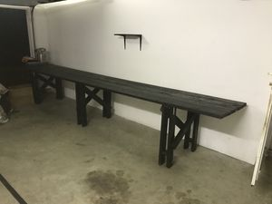 Wood work bench (ebony) for Sale in Fort Washington, MD