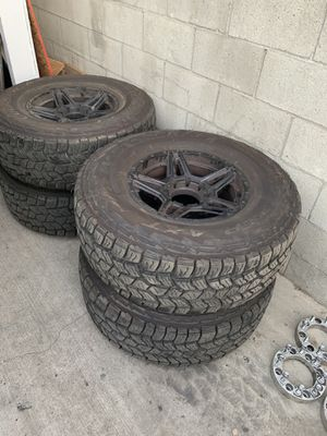 8 lug rims 8x165 for Sale in Los Angeles, CA